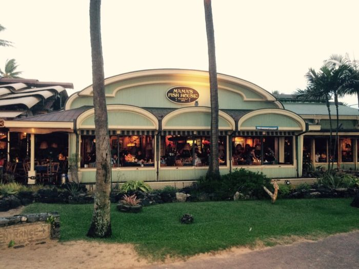 Mama 39 s fish house was just named the best restaurant in hawaii for Mama s fish house