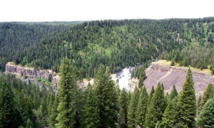 Mesa Falls, Idaho - Road Trip Natural Wonder