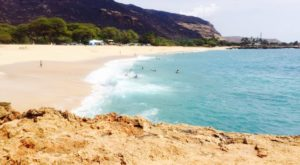 The Underrated Beach With The Whitest, Most Pristine Sand In Hawaii