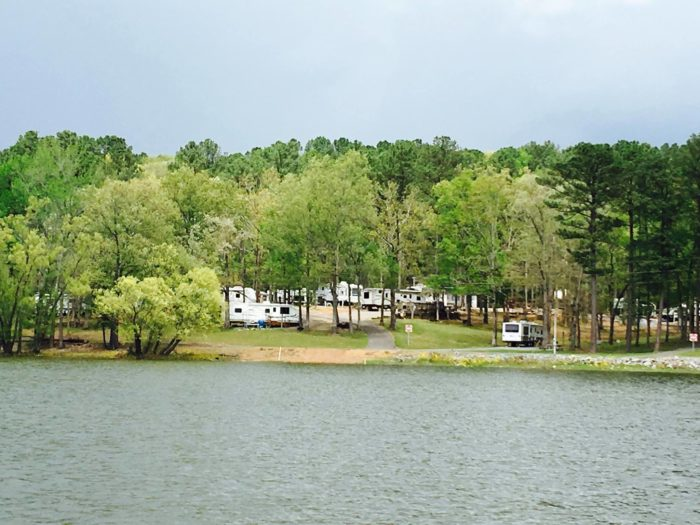 Camp Right on the Lake in Kentucky