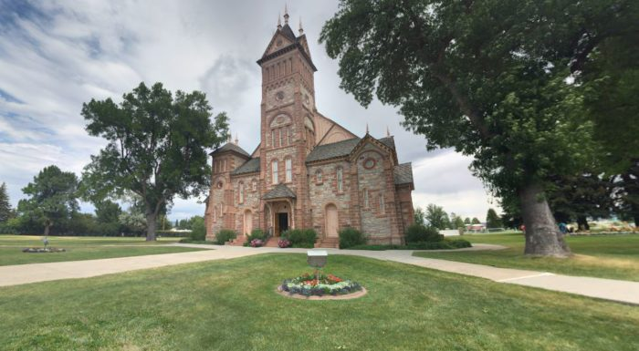 Inside And Out The Beautiful Bear Lake Stake Tabernacle Is A Stunning Architectural Masterpiece Erected In 1889