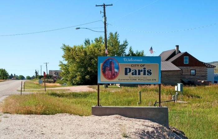 After Arriving In The Valley Mormon Settlers Created Townships Reflecting Their European Roots Paris Included