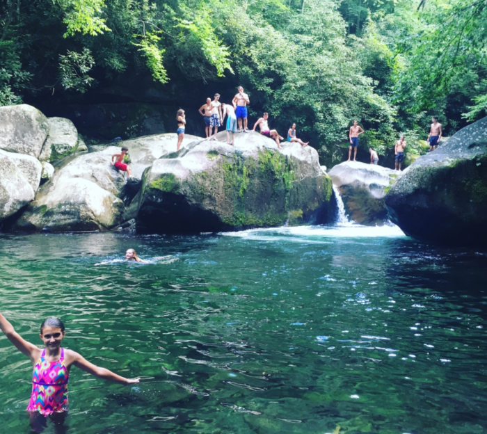 10 of the best swimming holes in north carolina - Swimming pools in great falls montana ...