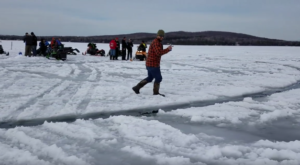 This Ice Carousel Might Be The Most Maine Thing To Ever Happen