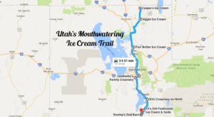 There's Nothing Better Than This Mouthwatering Ice Cream Trail In Utah