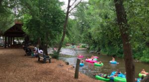 There's Nothing Better Than Georgia's Natural Lazy River On A Summer's Day