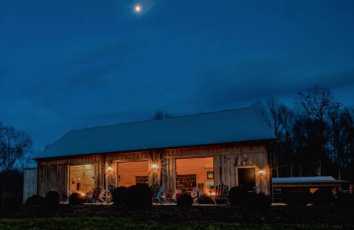 Cabins At Medaloni Cellars In Lewiston North Carolina Are