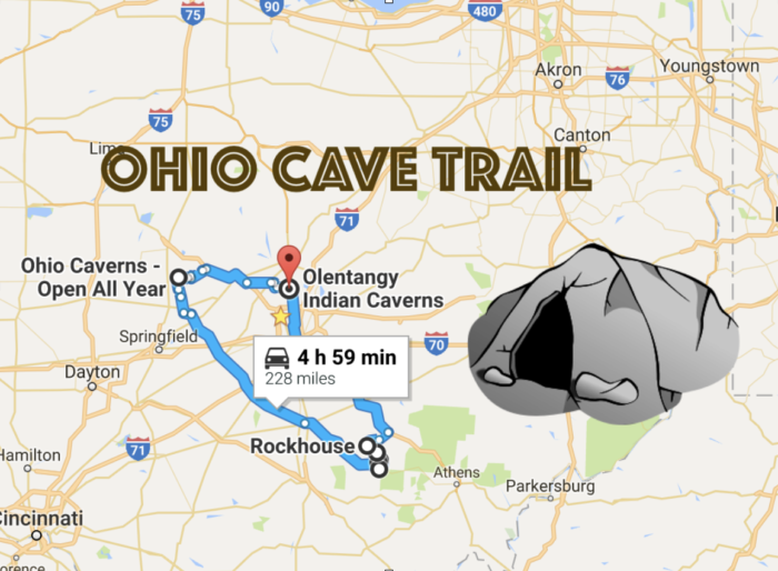 Road Trip To Ohio's Best, Most Incredible Caves: Ohio Cave Trail