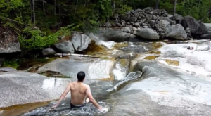 A Ride Down This Epic Natural Waterslide In Maine Will Make Your Summer Complete