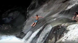A Ride Down This Epic Natural Waterslide In Vermont Will Make Your Summer Complete