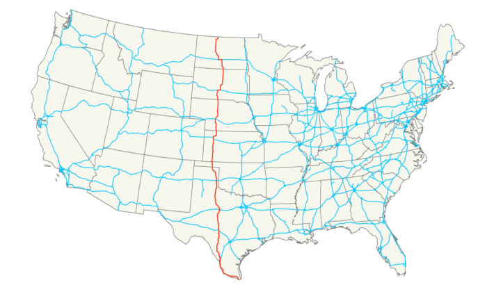 US Route Wikipedia High Resolution Us Map Houston Tx About - Nebraska on a us map