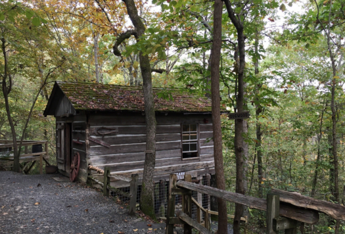 Youu0027re Going To Experience The Natural Bridge Of Arkansas By Walking Down A  Lovely Trail. Thereu0027s A Second 19th Century Cabin Fairly Close To The First.