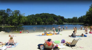 The Underrated Beach With The Whitest, Most Pristine Sand In West Virginia