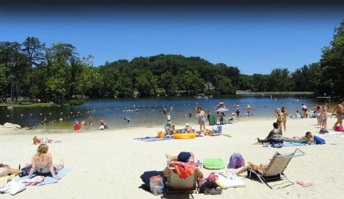 Cacapon Resort State Park Beach