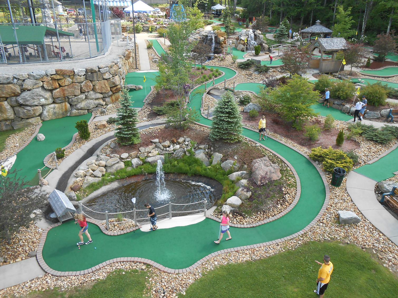 Kansas City Missouri Mini Golf