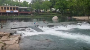 A Ride Down This Epic Natural Waterslide In Texas Will Make Your Life Complete