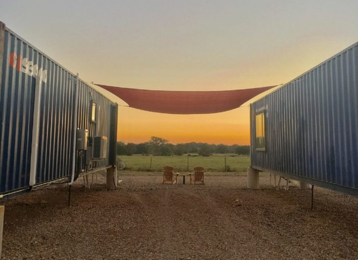 Flophouze Is A Texas Hotel Made Of Shipping Containers