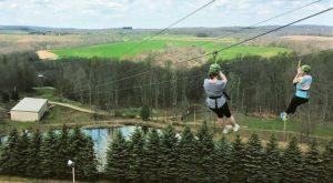 The Epic Canopy Course Near Pittsburgh That Will Bring Out The Adventurer In You