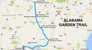 The Breathtaking Garden Trail In Alabama That You Must See To Believe