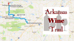 Arkansas's Wine Trail Is The Scenic Adventure You've Been Waiting For