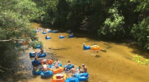 There's Nothing Better Than Alabama's Natural Lazy River On A Summer's Day