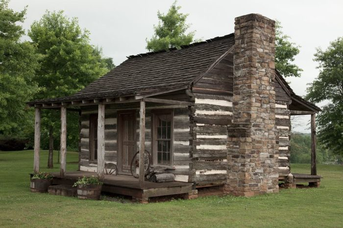 8 oldest and most historic log cabins in alabama for Log cabin builders in alabama