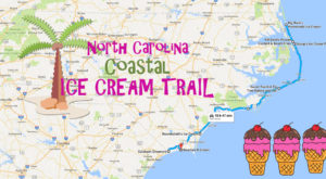 This Mouthwatering Ice Cream Trail Along North Carolina's Coast Is All You've Ever Dreamed Of
