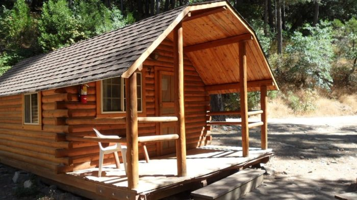 11 one of a kind northern california cabins for Cabin kits northern california