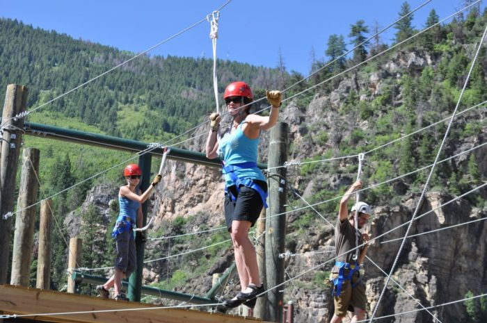 Colorado Adventure Center Is The Best Canopy Course Near