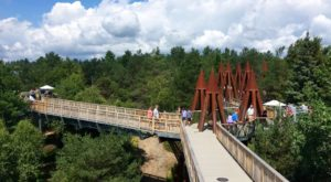 The Outdoor Discovery Park In New York That's Perfect For A Family Day Trip