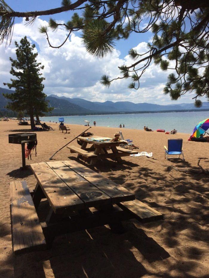 Nevada Beach Campground Lake Tahoe