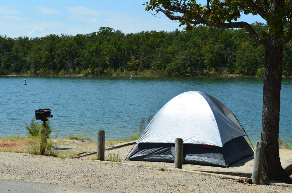 This lakeside campground in oklahoma will be your new for Camp sites with cabins