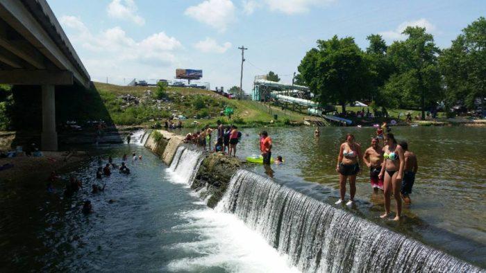 flint waterpark creekside