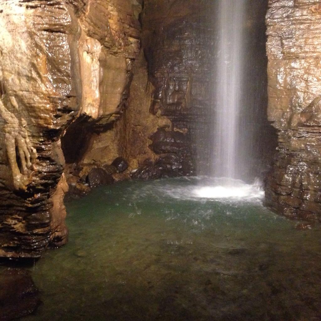 There S A Waterfall Hiding In New York S Secret Caverns