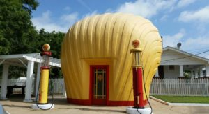 This Iconic And Quirky Gas Station In North Carolina Is The Last Of Its Kind