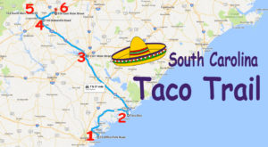 Your Tastebuds Will Go Crazy For This Amazing Taco Trail In South Carolina