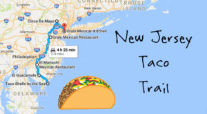Your Tastebuds Will Go Crazy For This Amazing Taco Trail In New Jersey