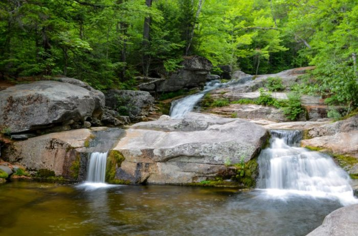 A Ride Down This Epic Natural Waterslide In Maine Will