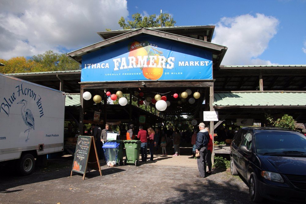 everyone in new york must visit the ithaca farmers market