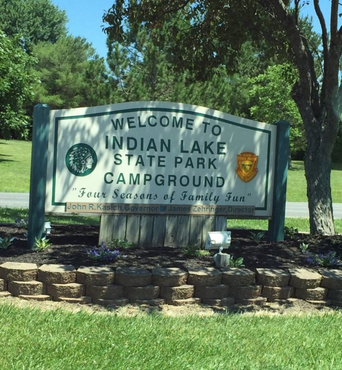 The Best Lakeside Campground In Ohio: Indian Lake State Park