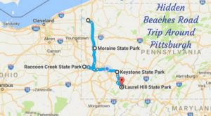 The Hidden Beaches Road Trip That Will Show You Pittsburgh Like Never Before