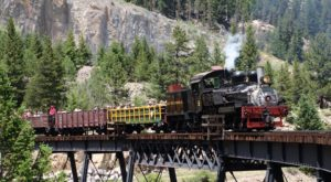 You'll Absolutely Love A Ride On This Majestic Mountain Train Near Denver This Summer