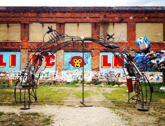Lincoln Street Art Park Is Most Unique Park In Detroit