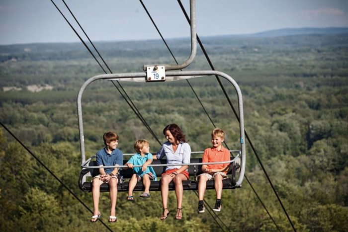 Crystal Mountain Resort Offers Most Scenic Chairlift Ride