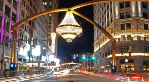 The World's Largest Outdoor Chandelier Is Right Here In Cleveland And You'll Want To Visit