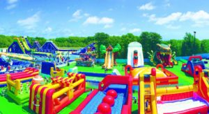 Make Your Summer Epic With A Visit To This Hidden Massachusetts Inflatable Water Park