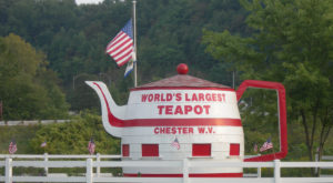The World's Largest Teapot Is Right Here In West Virginia And You'll Want To Visit