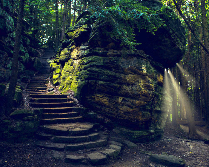 The Ledges Trail At Cuyahoga Valley National Park