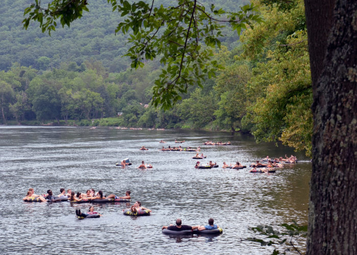 New river junction tubing