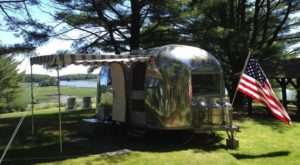 This Unique Campground In Maine Will Take You Back In Time